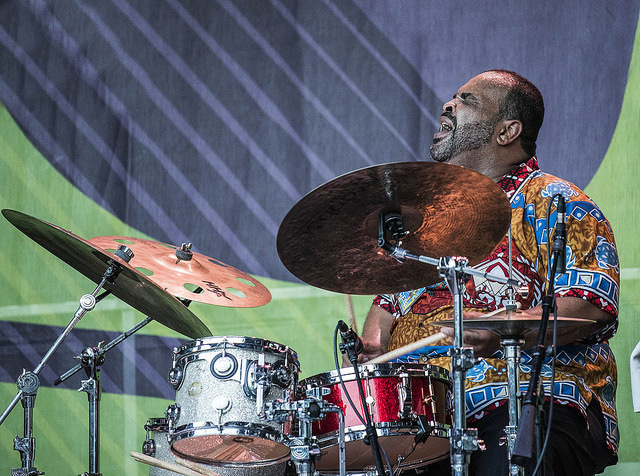 George Coleman Jr. performs at the 2016 Montclair Jazz Festival