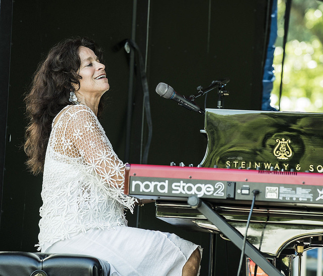 Michele Rosewoman performs at the 2016 Montclair Jazz Festival