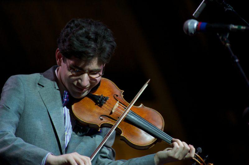 Aaron Weinstein has his jazz festival debut at Litchfield Jazz Festival 2010