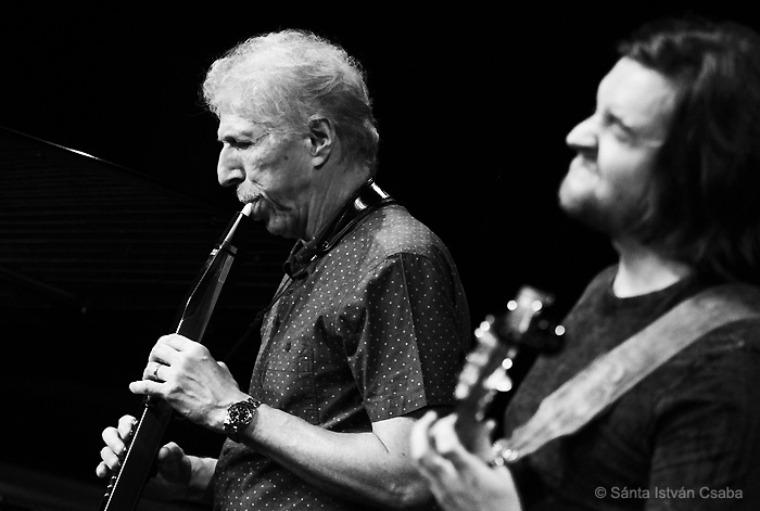 Bob Mintzer (left) and Dane Alderson of Yellowjackets perform at Blue Note Milano