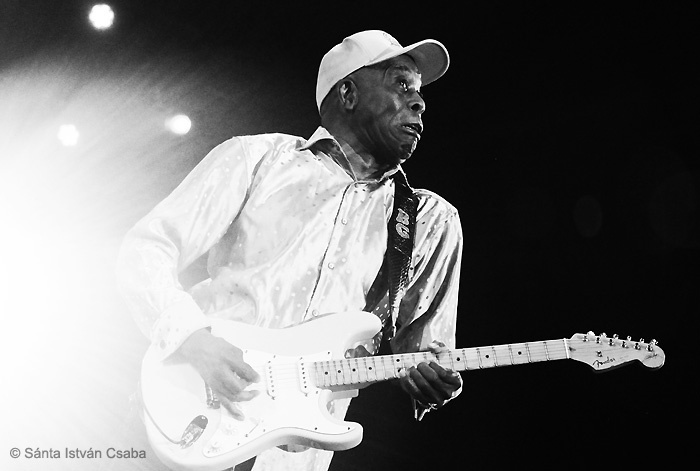 Buddy Guy performs at the 2016 North Sea Jazz Festival
