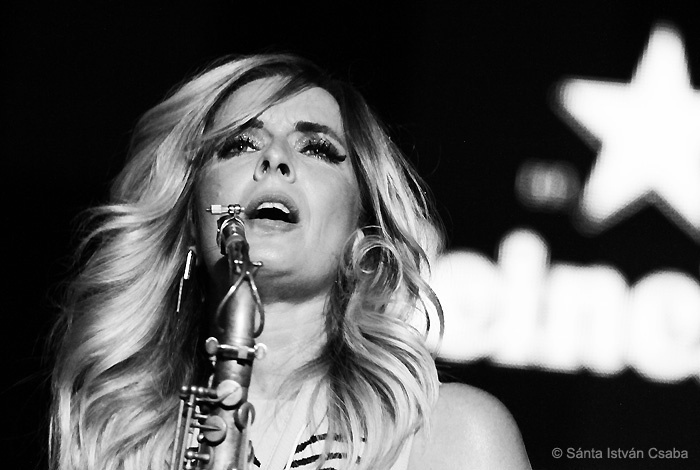 Candy Dulfer performs at the 2016 North Sea Jazz Festival