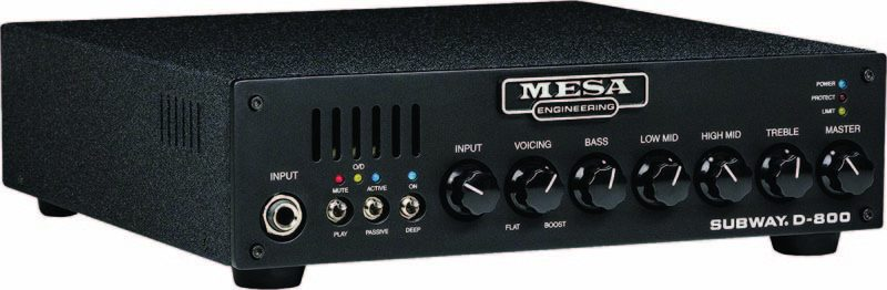Mesa/Boogie Subway D-800 bass head