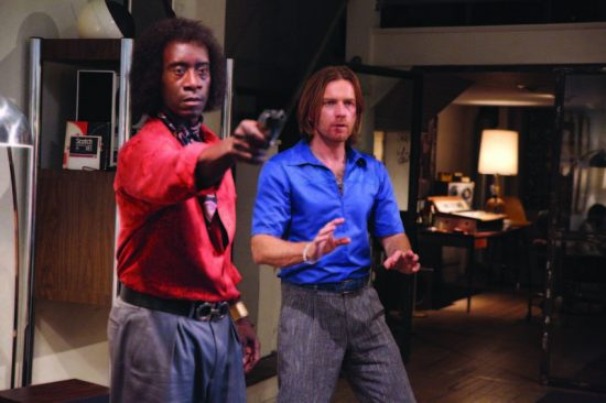 "If Miles was a gunslinger: Don Cheadle (left) and Ewan McGregor take liberties in ""Miles Ahead"" image 0"