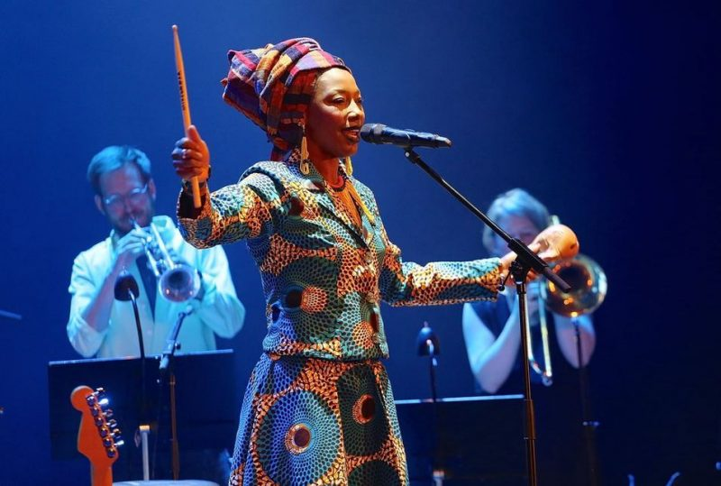Fatoumata Diawara and the Stockholm Art Orchestra at Kulturhuset; Stockholm Jazz Festival 2016