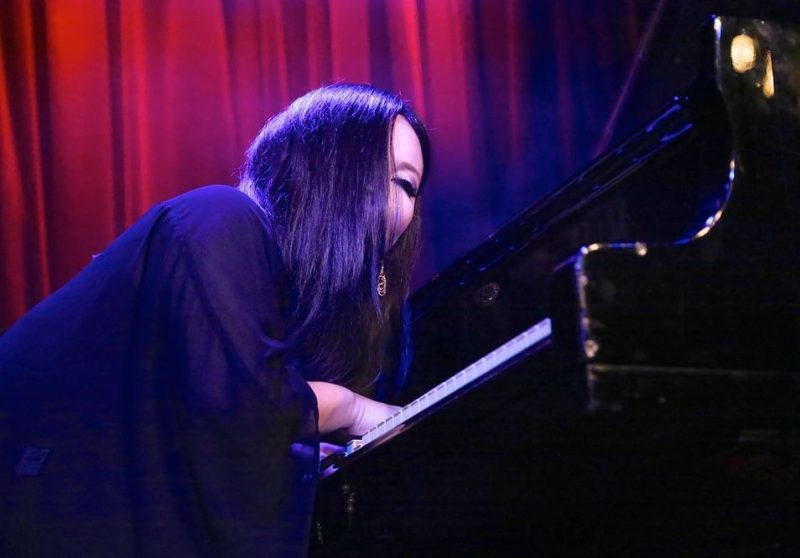 Naoko Sakata at the club Fasching; Stockholm Jazz Festival 2016