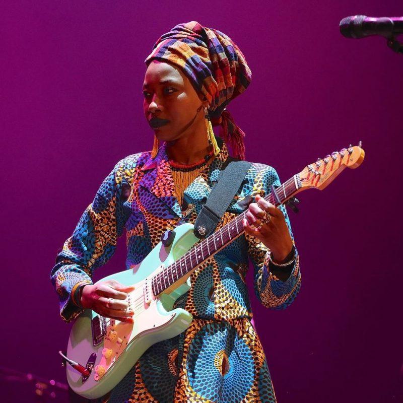 Fatoumata Diawara at Kulturhuset; Stockholm Jazz Festival 2016
