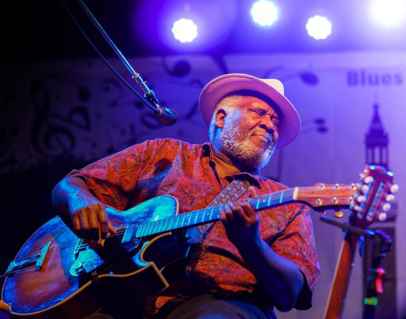 Taj Mahal performs at the 2016 Springfield Jazz & Roots Festival