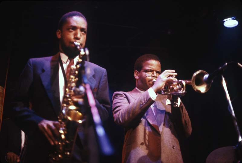 Blanchard and Donald Harrison did strong, distinctive work in Art Blakey's Jazz Messengers in the mid-1980s. Here they perform in the band at New York's Village Gate in '86, the same year they formed their own influential group