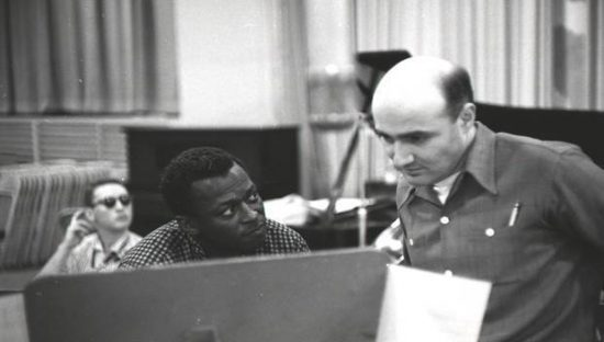 Miles Davis and George Avakian image 0