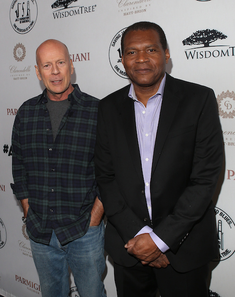 "Bruce Willis and Robert Cray at the 15th Annual ""A Great Night in Harlem"""