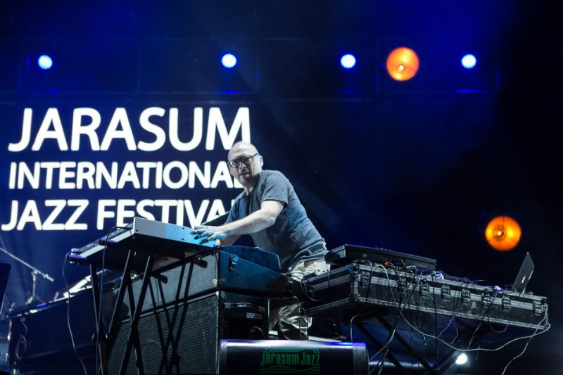 Bugge Wesseltoft's New Conception of Jazz performs at the Jarasum International Jazz Festival