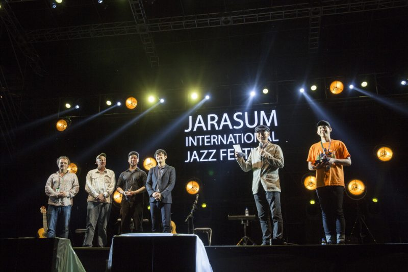 The Jazz Concours competition at the Jarasum International Jazz Festival