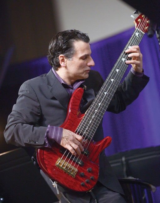 John Patitucci at the Jazz Education Network Conference in January 2013