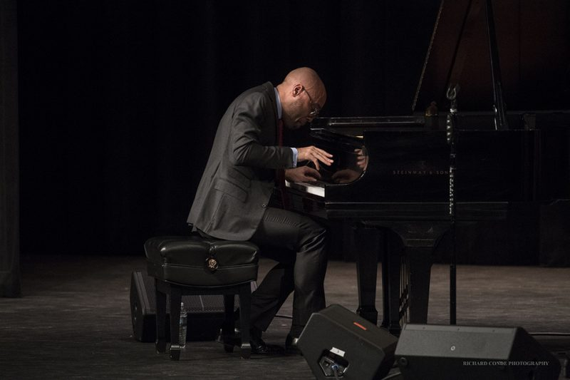Aaron Diehl performing at the 2016 Exit 0 International Jazz Festival in Cape May, NJ