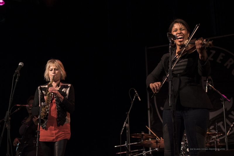 Jane Bunnett & Maqueque performing at the 2016 Exit 0 International Jazz Festival in Cape May, NJ