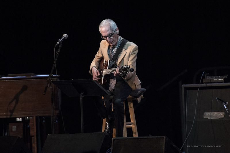 Pat Martino performing at the 2016 Exit 0 International Jazz Festival in Cape May, NJ