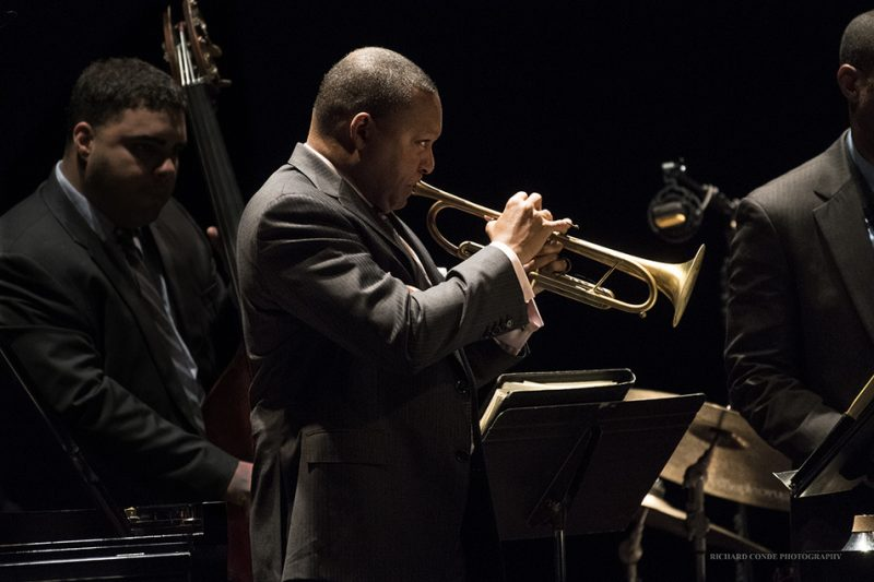 Wynton Marsalis performing with his quintet at the 2016 Exit 0 International Jazz Festival in Cape May, NJ