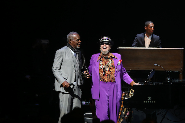 "Danny Glover and Dr. John at the 15th Annual ""A Great Night in Harlem"""
