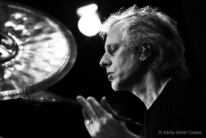 Dave Weckl performing at the Blue Note Milano in Italy