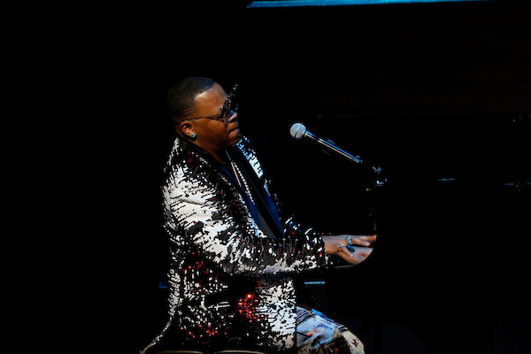"Davell Crawford performs at the 15th Annual ""A Great Night in Harlem"""