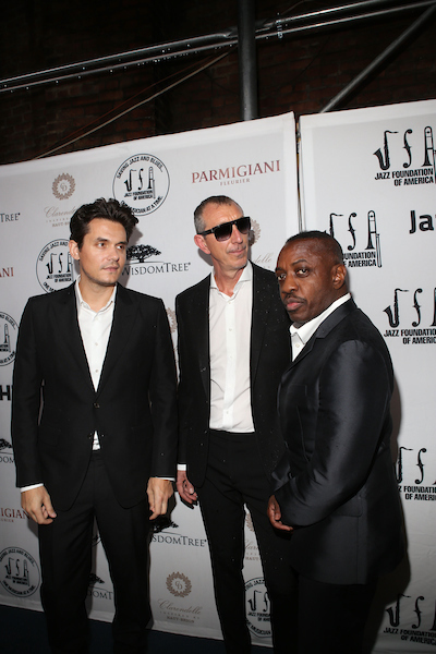"John Mayer, Pino Palladino and Steve Jordan of the John Mayer Trio at the 15th Annual ""A Great Night in Harlem"""