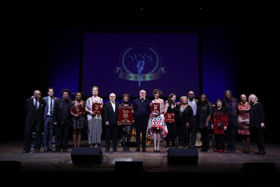 Contestants, judges and musicians at the 2016 Sarah Vaughan International Jazz Vocal Competition image 2