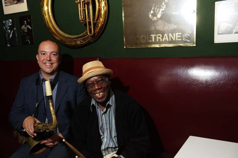 Andrew Cyrille and Bill McHenry at the Village Vanguard, where their duo rapport developed