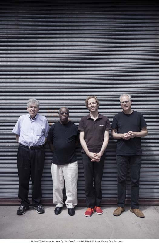 Cyrille with Richard Teitelbaum, Ben Street and Bill Frisell (from left), his new band of previous collaborators