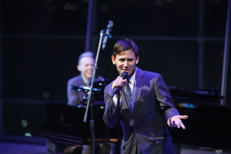 Performance by Benj Pasek and Justin Paul at the 2016 ASCAP Foundation Honors