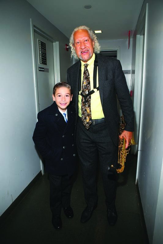 Gary Bartz and piano prodigy Brandon Goldberg