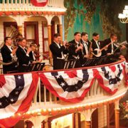 Musicians, including Vince Giordano, in scene from Boardwalk Empire image 0