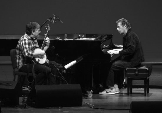 Bela Fleck and Chick Corea, Virginia, Oct. 2015 image 0