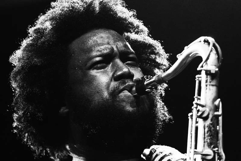 "Asked for examples of jazz as protest music, Kamasi Washington chooses Billie Holiday's ""Strange Fruit"" and John Coltrane's ""Alabama"""