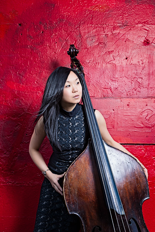 Linda May Han Oh (photo by Vincent Soyez) one of the headliners at the 2018 Atlanta Jazz Festival