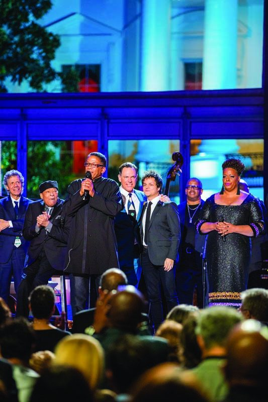 Herbie Hancock and a jazz dream team, onstage at the White House
