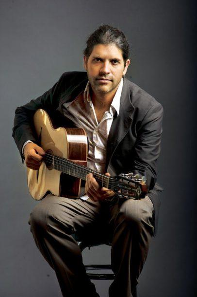 Photo of guitarist Stephane Wrembel