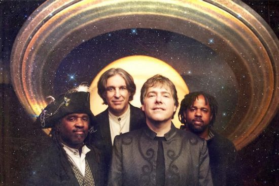 Béla Fleck with original Flecktones
