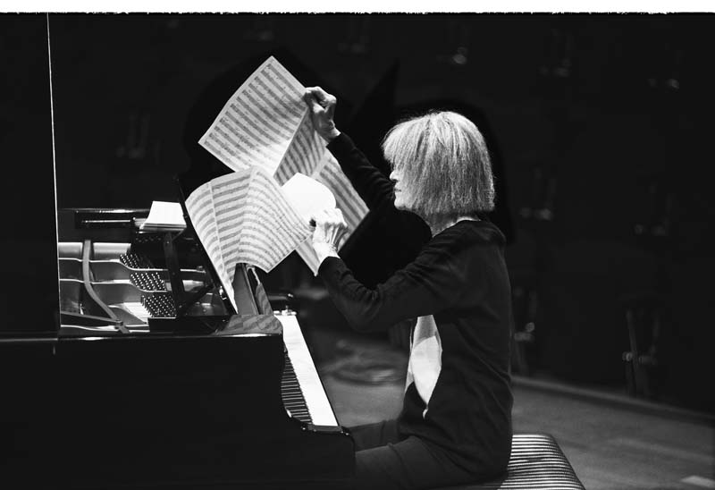 Carla Bley (photo by Caterina Di Perri/ECM Records)
