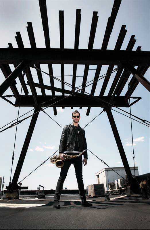 Donny McCaslin (photo by Jimmy King)