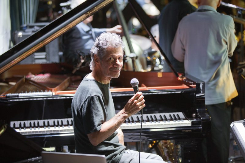 Chick Corea (photo by Alan Nahigian)