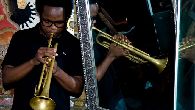 Ambrose Akinmusire (photo courtesy of PDX Jazz)
