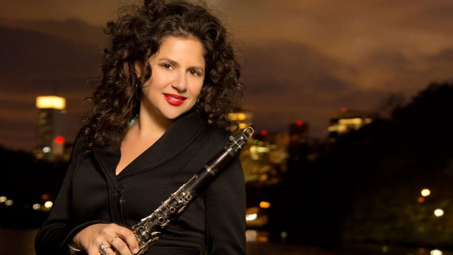 Anat Cohen (photo courtesy of PDX Jazz)