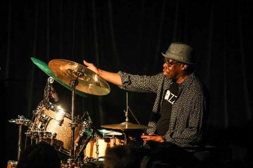 Andrew Cyrille (photo by Jati Lindsay)
