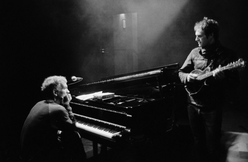 Brad Mehldau (left) and Chris Thile (photo by Michael Wilson)
