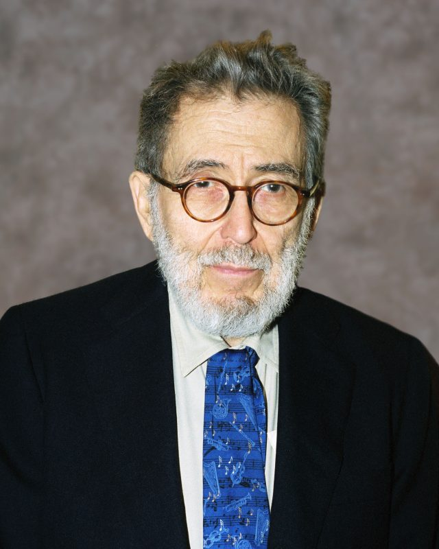 Nat Hentoff (photo by Tom Pich/courtesy of the NEA)