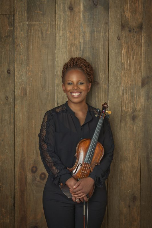 Regina Carter (photo by David Katzenstein)