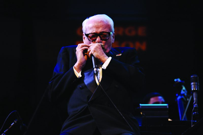 Toots Thielemans (photo by Tom Pich/courtesy of the NEA)