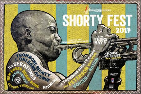 Shorty Fest 2017 poster