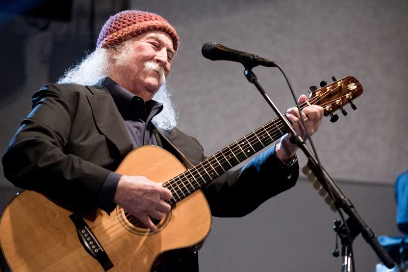 David Crosby at 2017 GroundUP Music Festival (photo by Stella K)